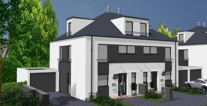 Im plan for Stadtvilla modern
